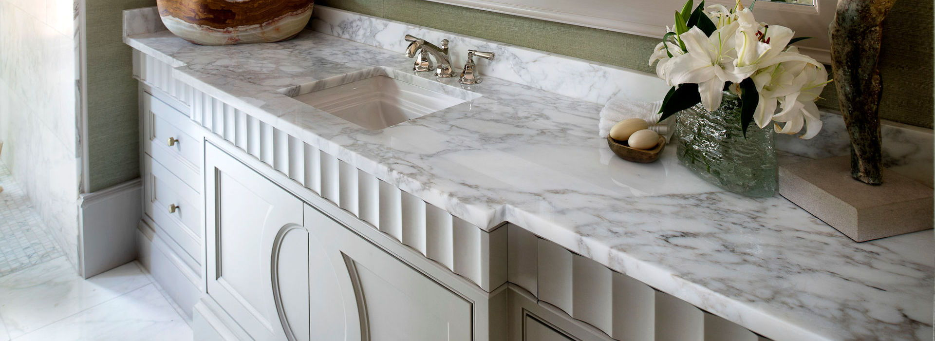 Stone solutions your choice for all your granite needs for Bathroom vanities marietta ga