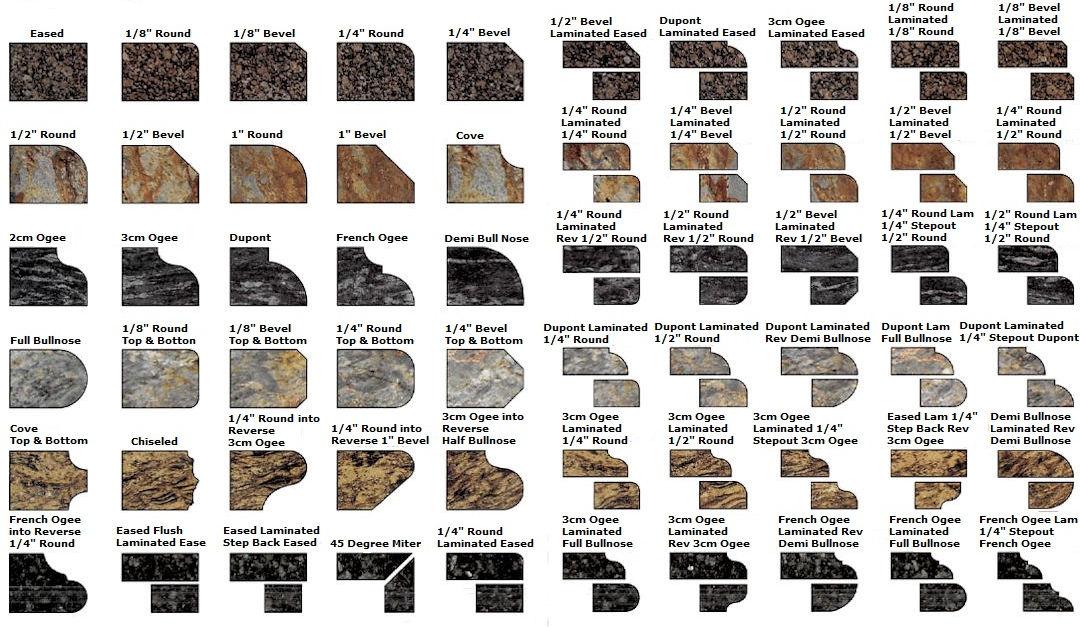 Stone edges